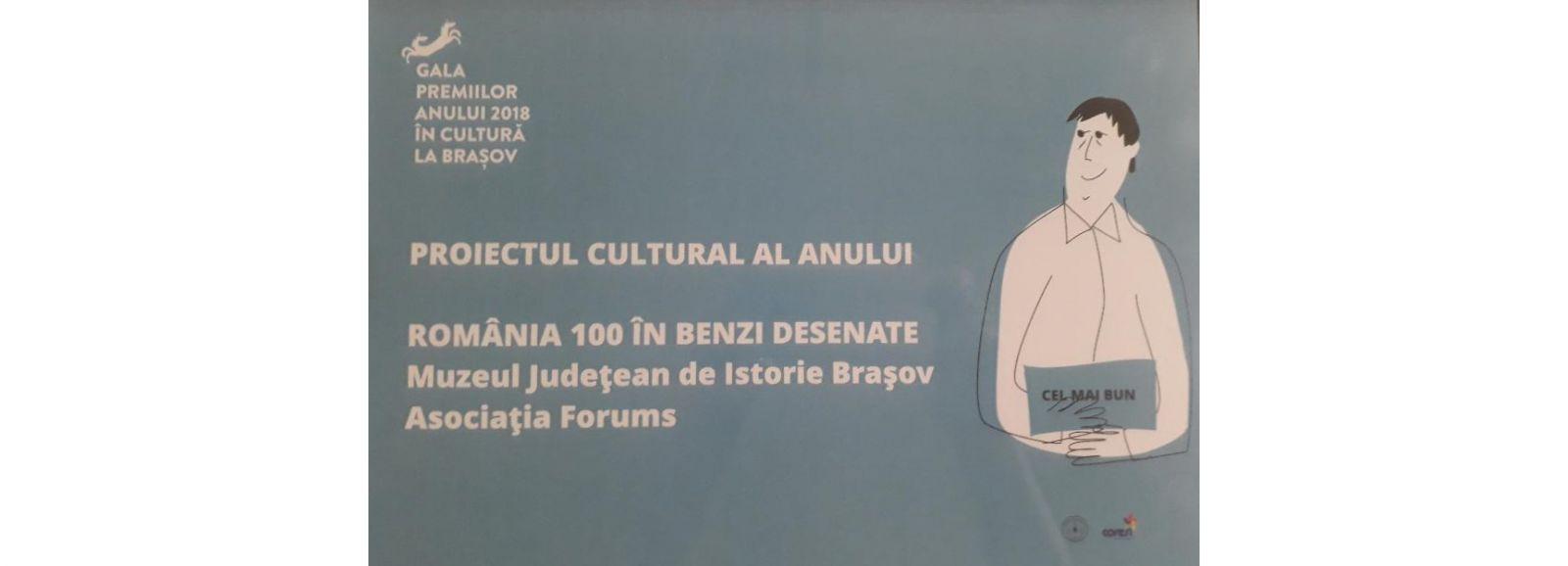 """BRAȘOV - Casa Sfatului Expoziţia ,,ROMÂNIA 100 ÎN BENZI DESENATE""""-Casa Sfatului"""