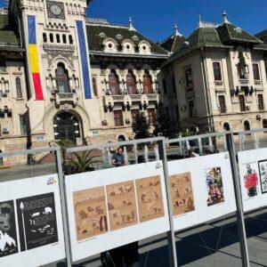 """Expoziția outdoor de benzi desenate istorice ,,Eroii care au făcut Istorie"""" – Craiova"""
