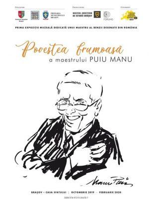 """Expoziția - """"Puiu Manu. Povestea unui maestru al benzii desenate istorice"""""""
