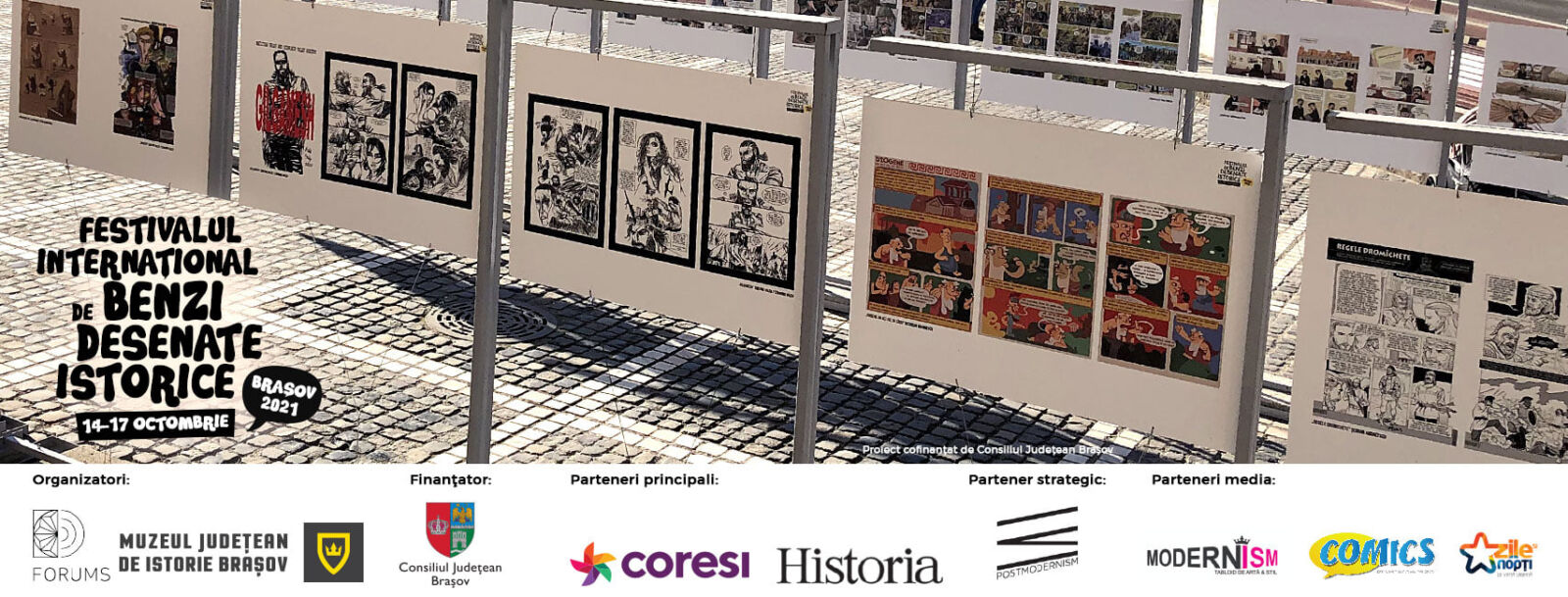 Festivalul de Benzi Desenate Istorice Brașov 2021